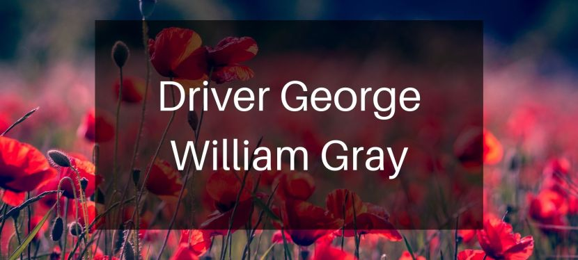Driver George WilliamGray