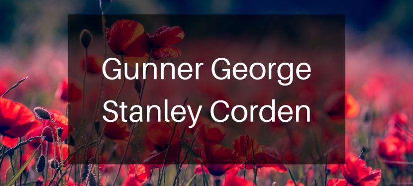 Gunner George StanleyCorden