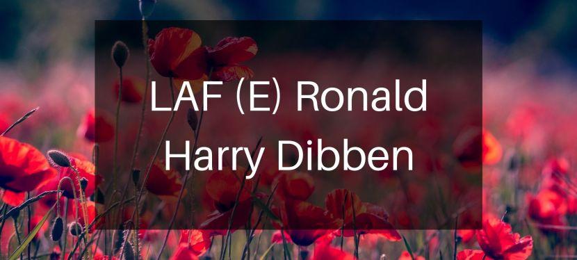 LAF (E) Ronald Henry (Harry)Dibben
