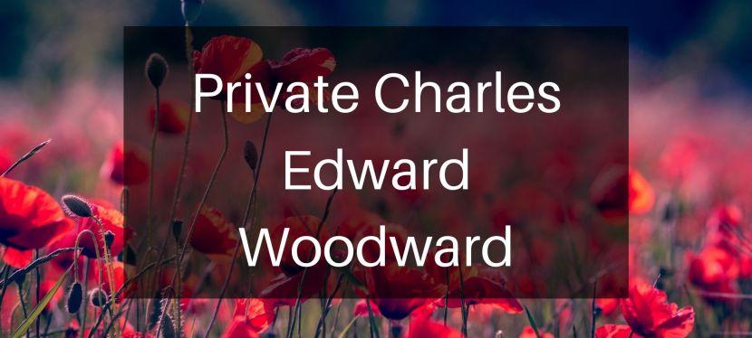 Private Charles EdwardWoodward