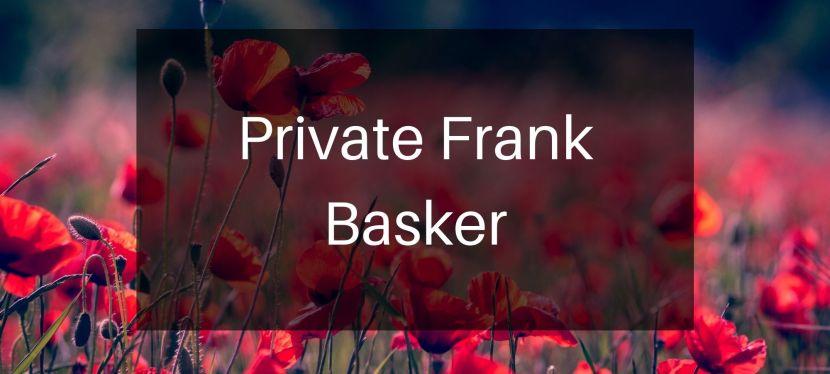 Private Frank Basker
