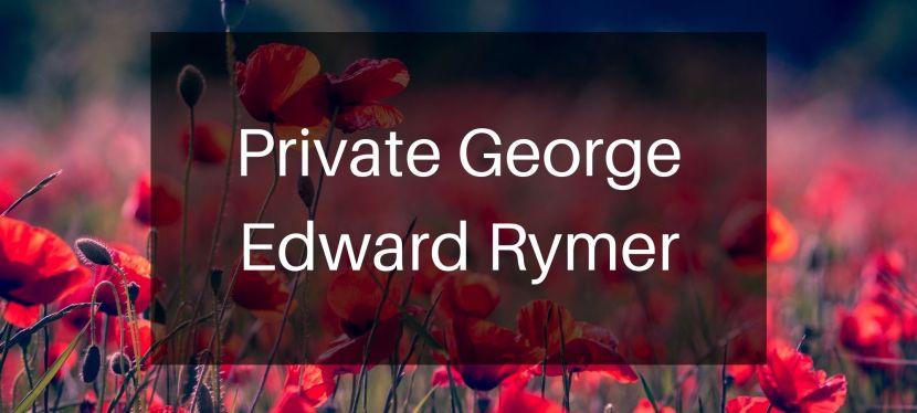 Private George Rymer