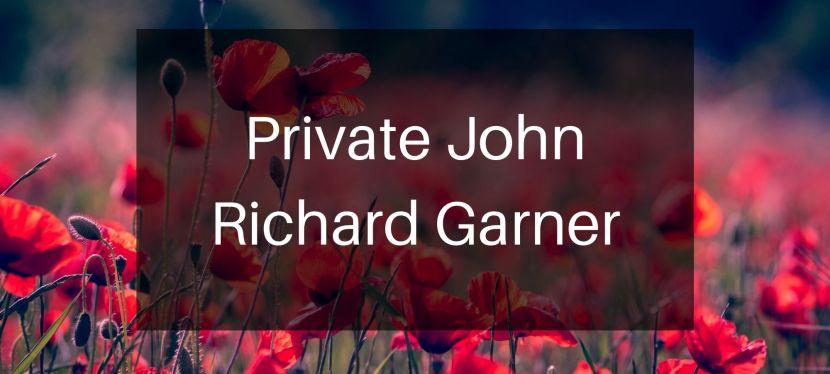 Private John RichardGarner