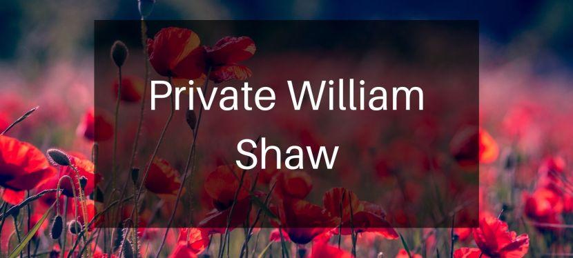 Private William Shaw